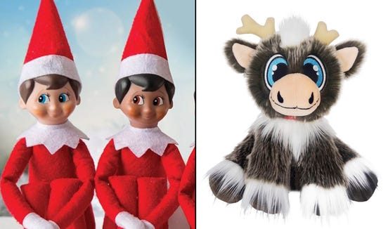 Elf on the Shelf or Reindeer in Here? We outline the details on each so you can decide which is the best fit for your family holiday tradition.