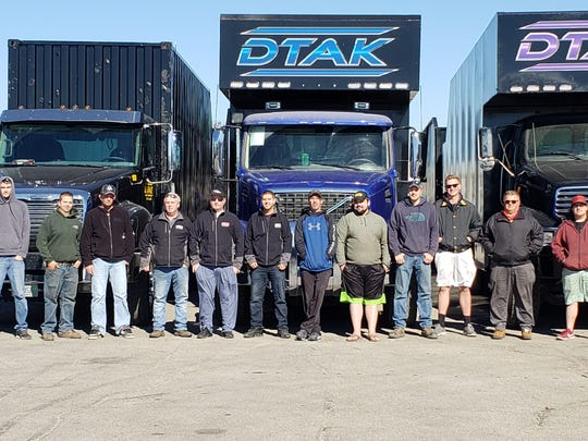 New London-based DTAK has multiple trucks in Florida cleaning up damage from Hurricane Michael.