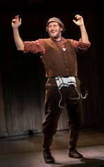 """Yehezkel Lazarov plays Tevye in the touring production of """"Fiddler on the Roof,"""" now playing in Appleton."""