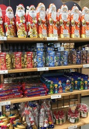 Children might find German chocolates in their shoes or stockings on St. Nicholas Day. The sweets are available for purchase at retailers like Cost Plus World Market.