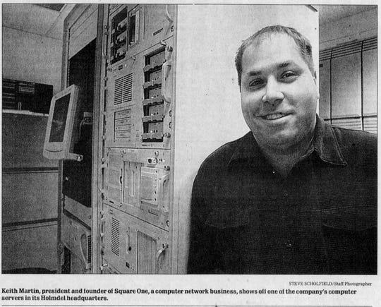 Keith Caneiro in a 2001 Asbury Park Press profile.
