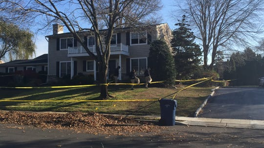 Ocean Township Fire Marshall, Monmouth County Fire Marshall, Ocean Township Police investigate 27 Tilton Drive.