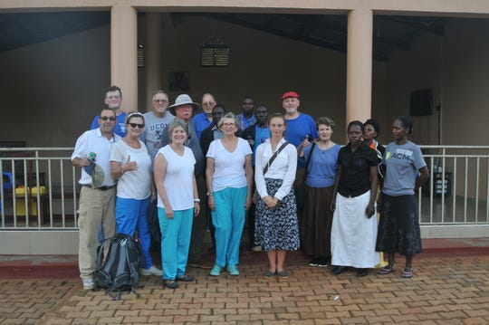 Member of Rev. Terry Chapman's humanitarian mission to Uganda
