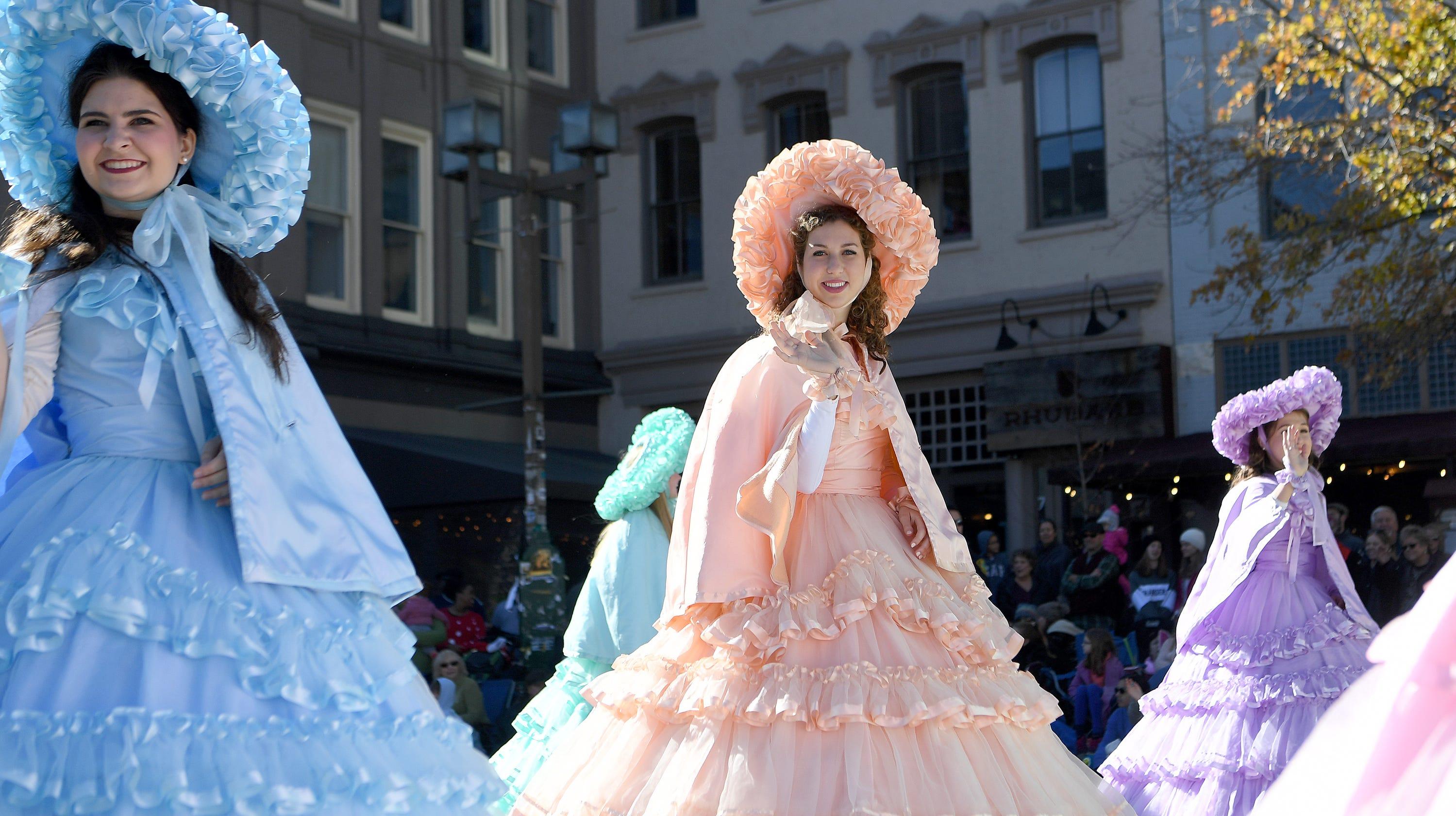 Boyle column: Southern belles at Asheville parade an odd addition