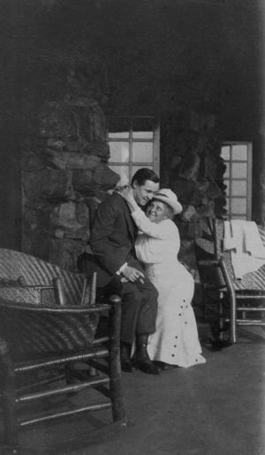 Chester and Mrs. Addison Munroe at Grove Park Inn