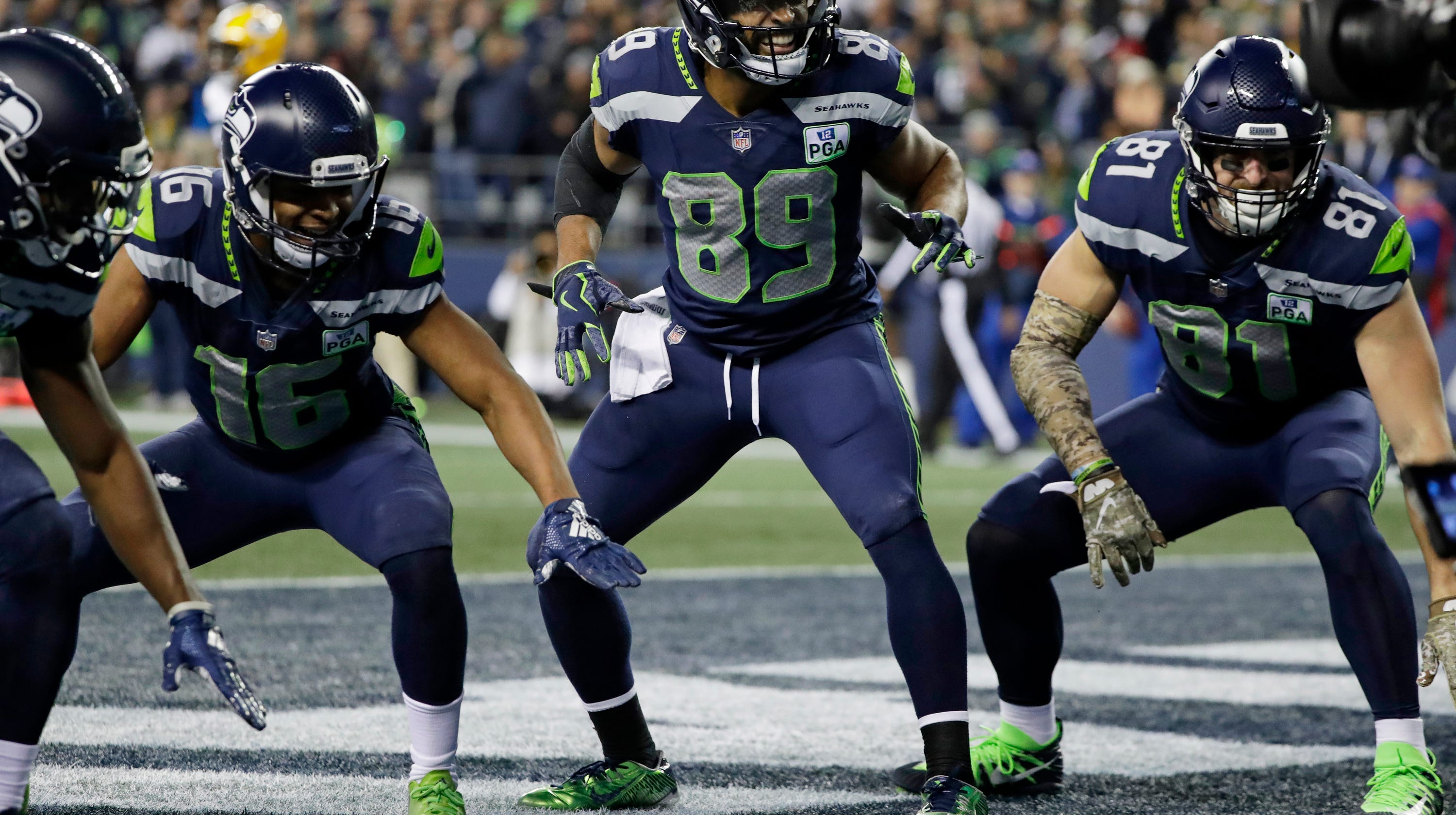 866f143ae Seahawks receivers lead league in touchdown celebration creativity