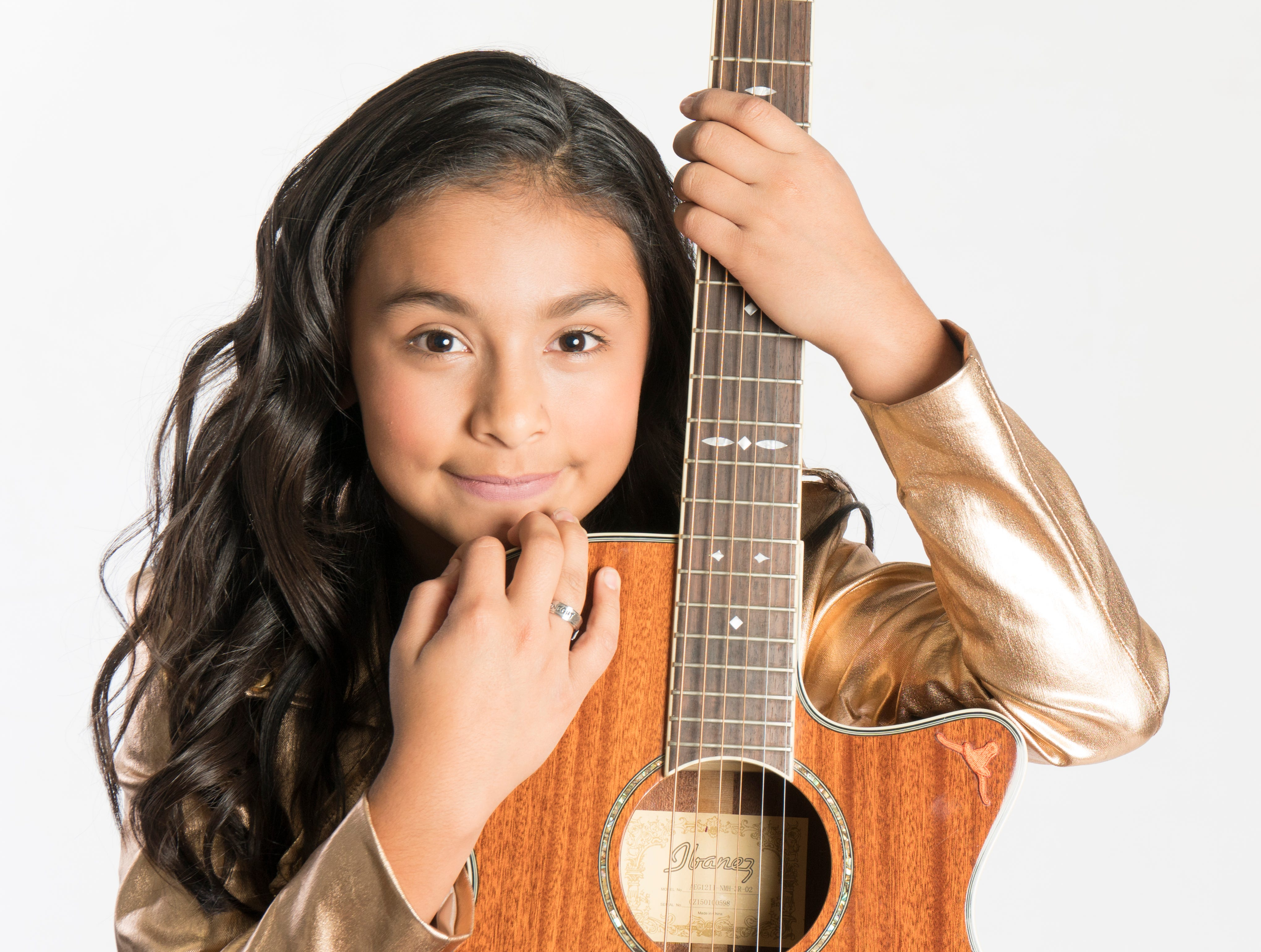 This 11-year-old Texas singing sensation is the youngest to win a Tejano Music Award