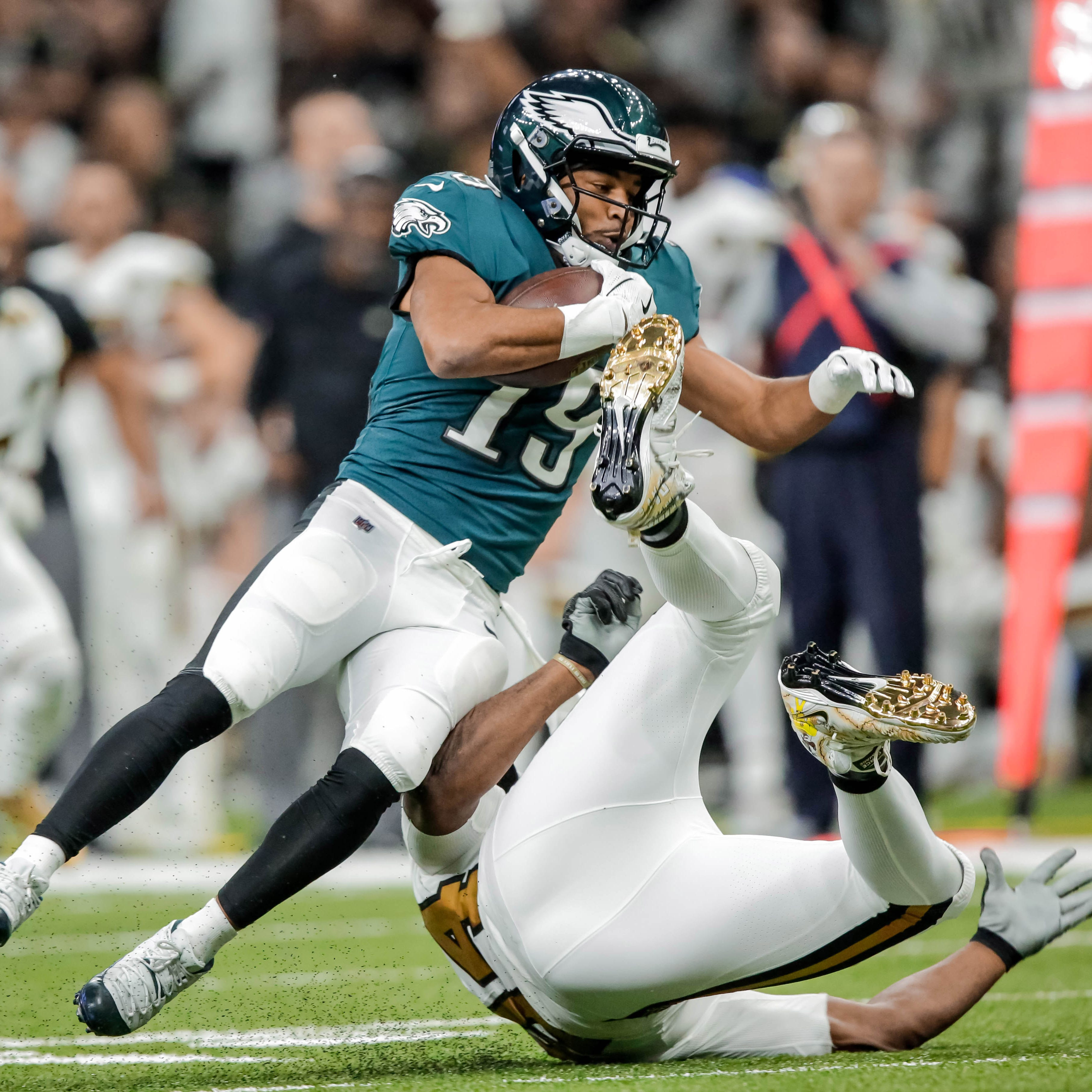 Eagles have struggled to integrate Golden Tate into the offense