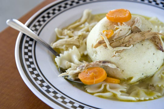 Matzo ball soup at The Kibitz Room in Cherry Hill is the next best thing to Mom's. OK, maybe better.