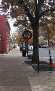 Downtown Haddonfield is decorated and ready for shoppers on Small Business Saturday.