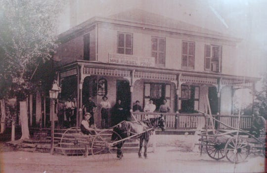 One of Western Hills' oldest landmarks was the Wagon Wheel Cafe, which closed in 2008 after 139 years in operation. The Wagon Wheel was demolished to make way for a turn lane. This photo depicts when the Wagon Wheel was known as the Bridgetown Hotel.