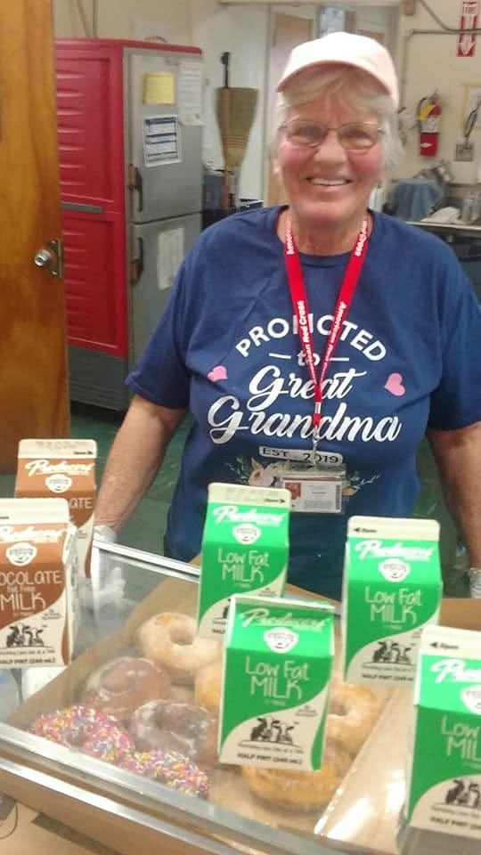 Joyce Work of Dickson County spends her Thanksgiving volunteering in California with the Red Cross, helping fire victims.