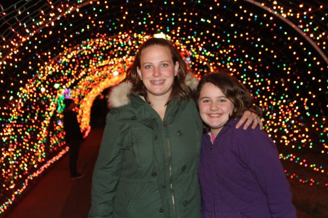 The City of Clarksville kicked off its annual Christmas on the Cumberland Tuesday, Nov. 20, 2018, with over 2 million lights in the display.