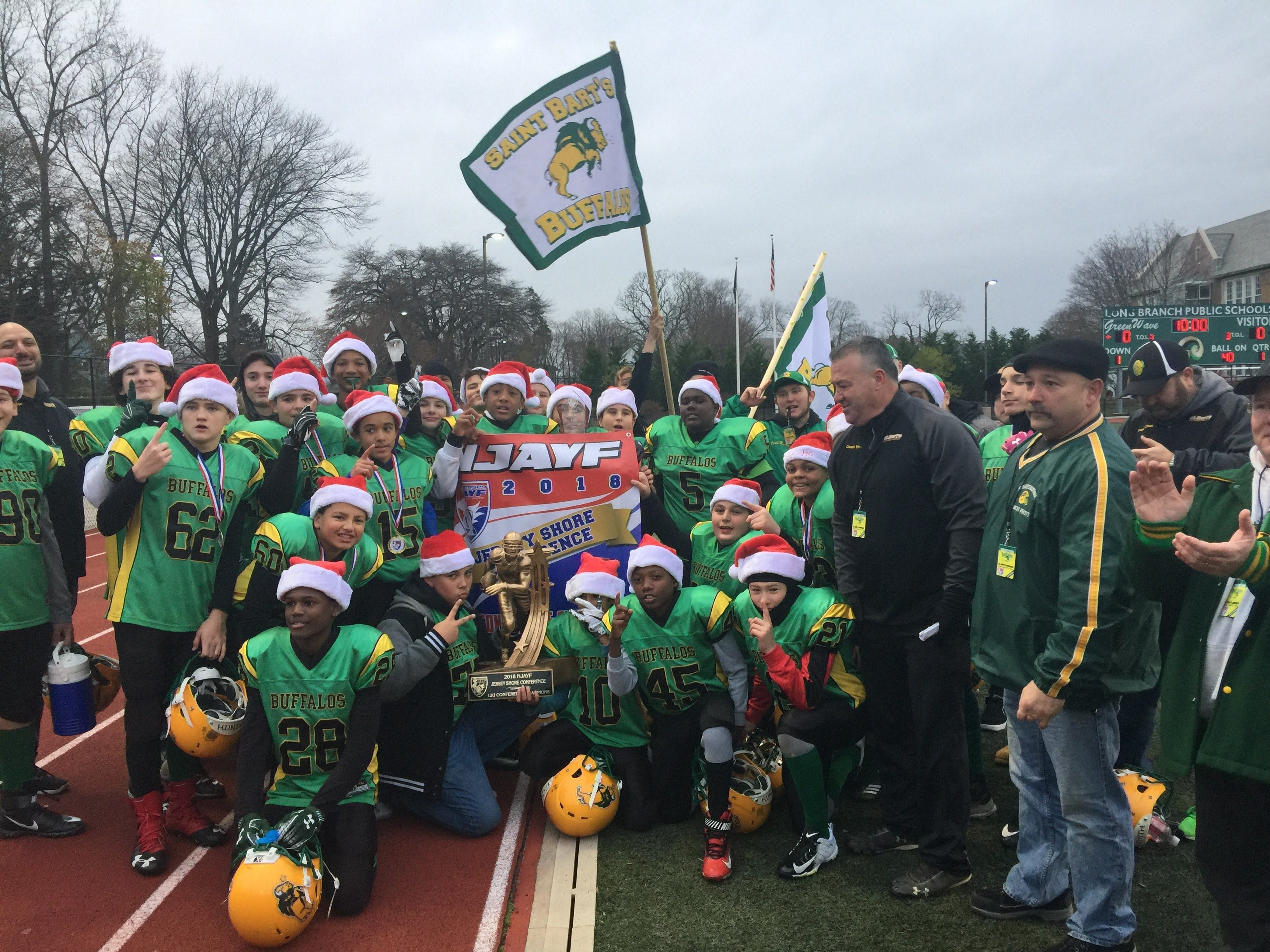 Saint Barts Buffalos Football team is heading to Florida for national championship games.