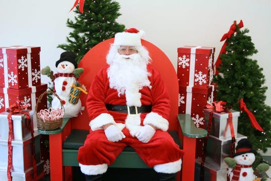 Photos with Santa will take place at the Somerset County Park Commission Therapeutic Recreation Center, 355 Milltown Road in Bridgewater on Saturday, December 1
