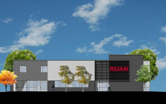 Ruan Transportation Management Systems is planning to build a $9 million operations and training facility in Ankeny next year.