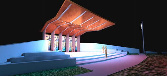 West Des Moines plans a $2.8 million outdoor amphitheater on its Civic Campus.