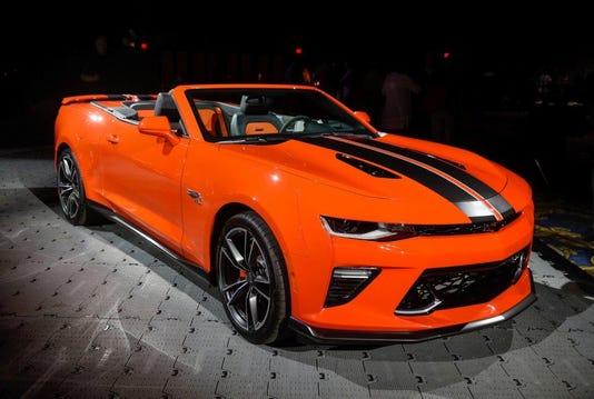 2018 Camaro Hot Wheels Edition
