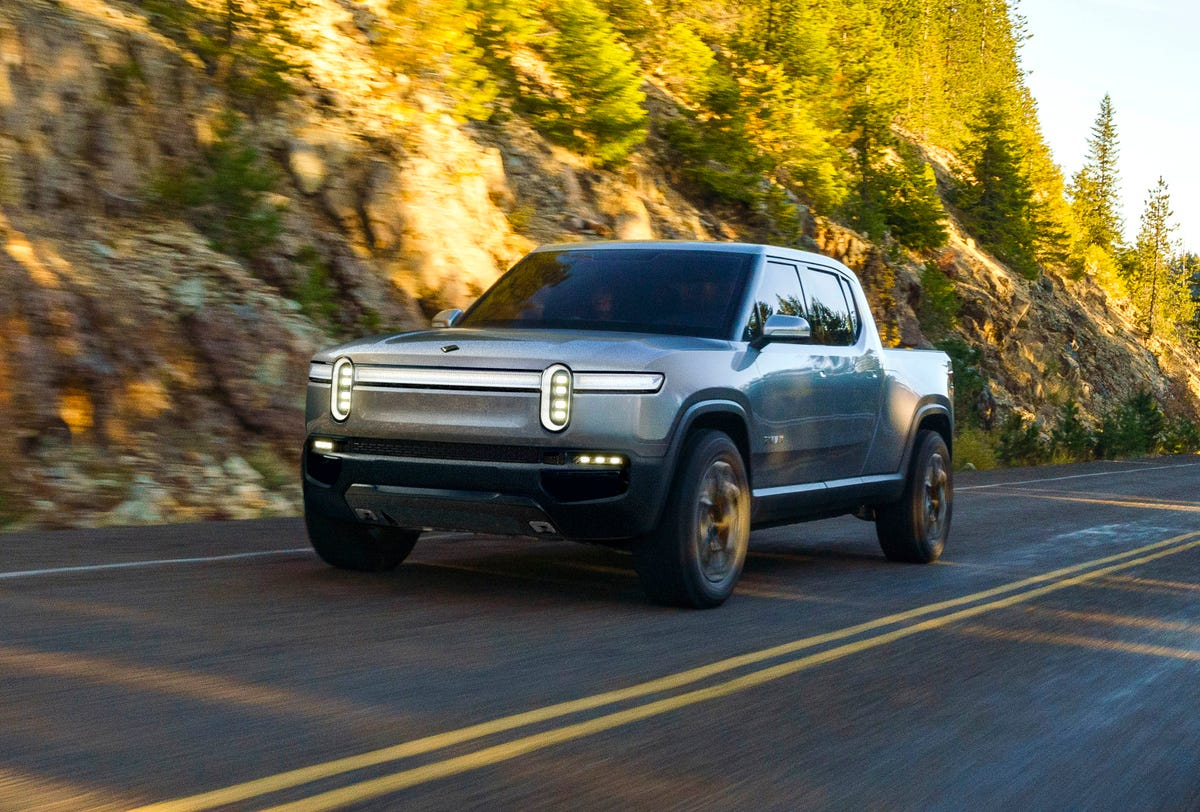 Electric Rivian R1S, R1T might be attractive to Amazon, GM