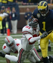 Braylon Edwards had 138 receiving yards in Michigan's win over Ohio State in 2003.