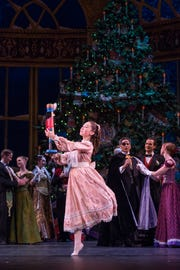 """Shelby Township native Sophie Miklosovic performs in """"The Nutcracker."""""""