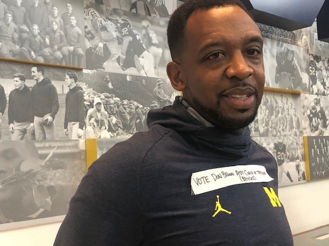 Pep Hamilton's message about Don Brown was clear for all to see on Wednesday.