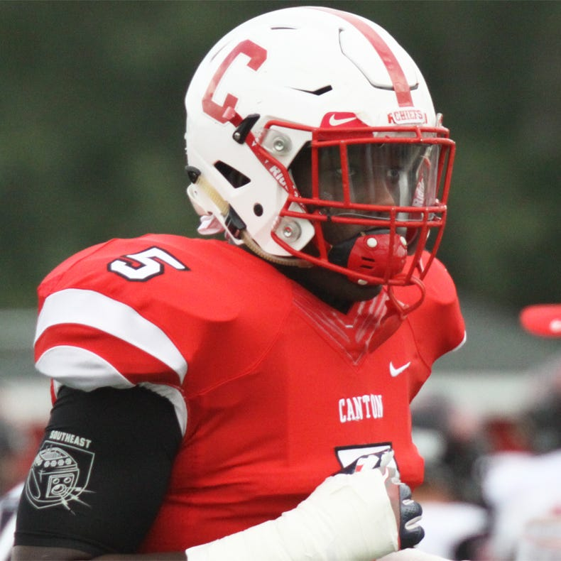 Trieu: Canton's Darius Robinson takes quick trip to Michigan offer