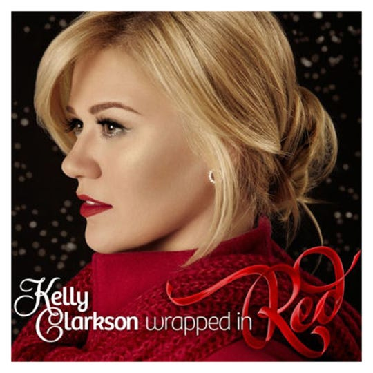 "Kelly Clarkson's Christmas album ""Wrapped In Red"""