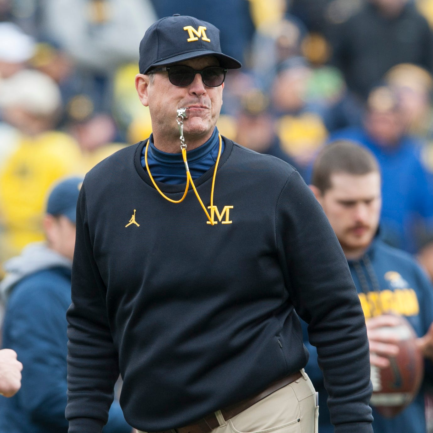 Jim Harbaugh OK with admitting Michigan preps for Ohio State all season long