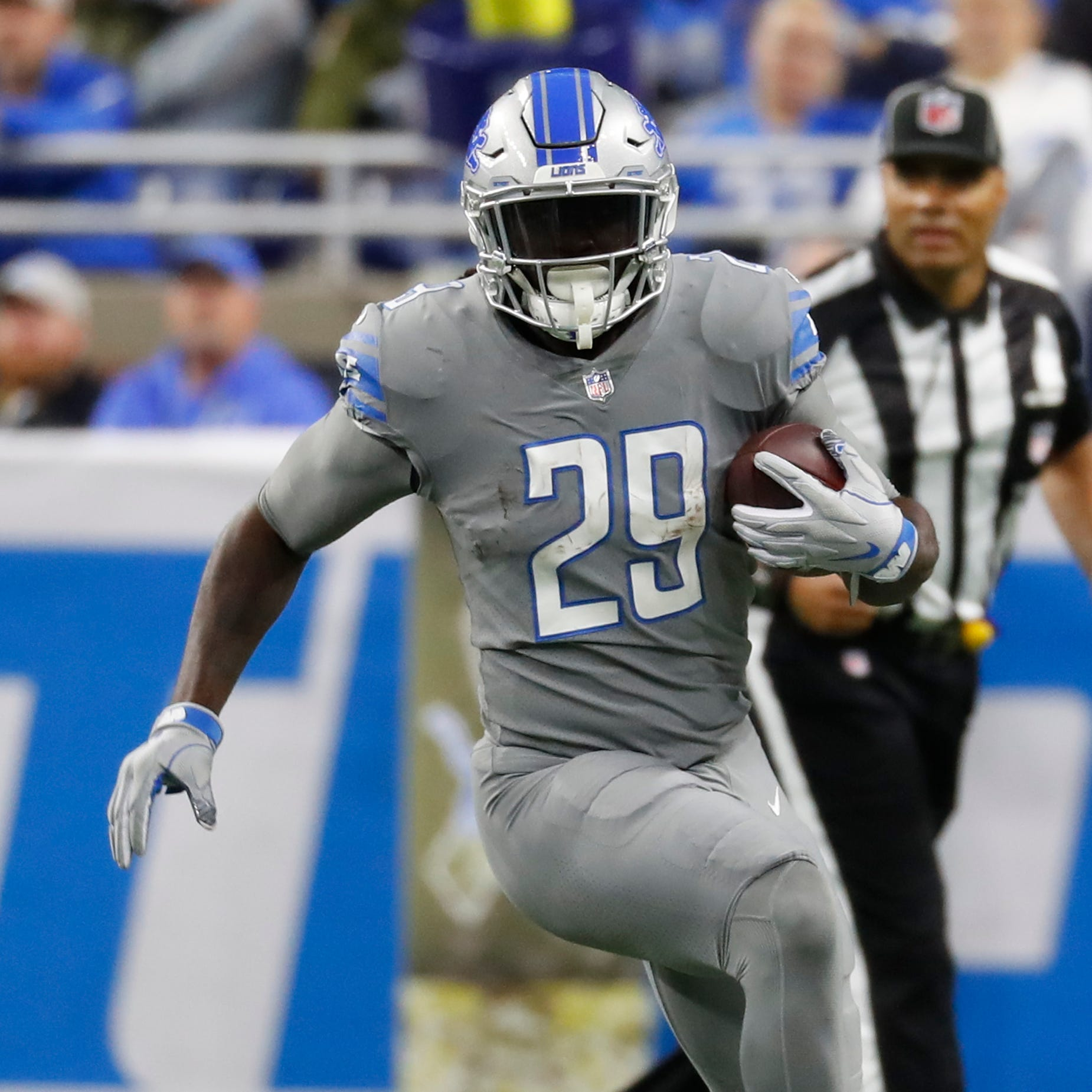 Can Lions' LeGarrette Blount have another 'legendary' Thanksgiving?