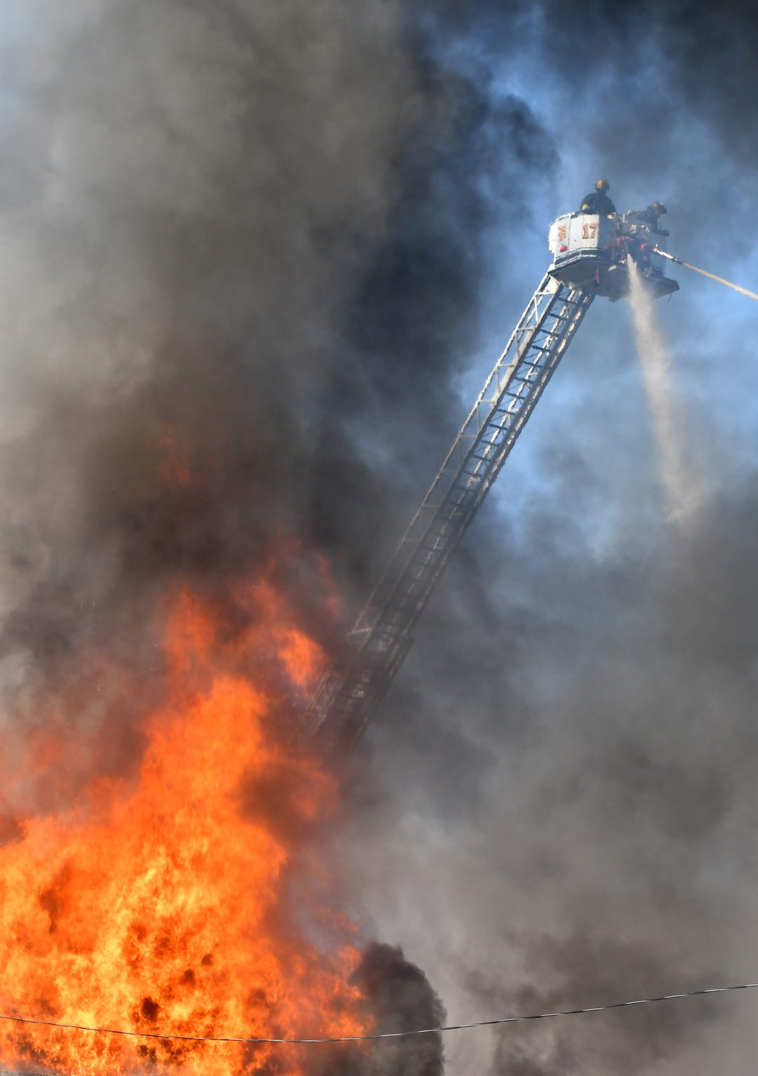 The average number of structure fires annually in Detroit has declined by 42percent since 2014, according to fire department data.
