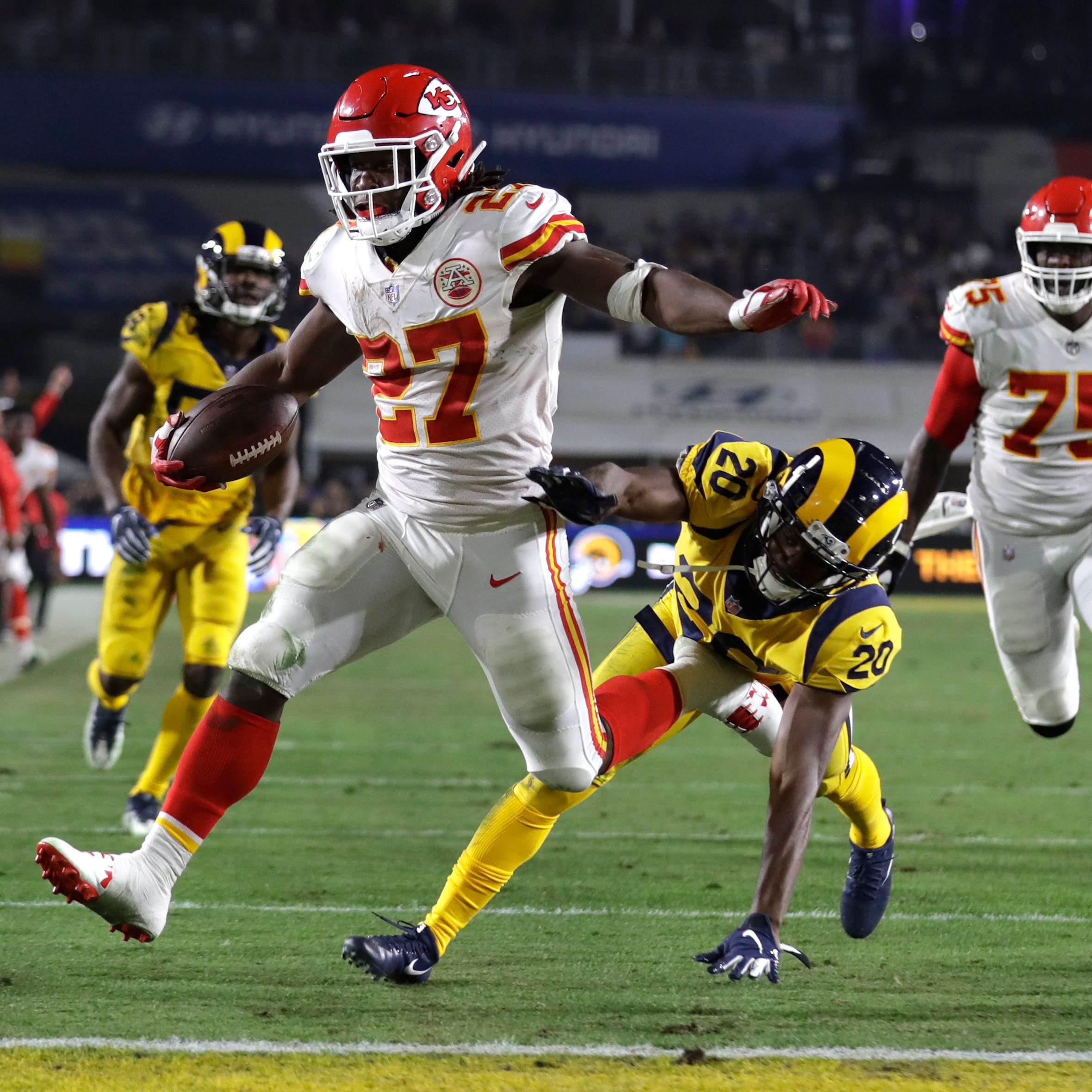 'It was crazy': Rams-Chiefs fireworks leave Lions defenders awestruck