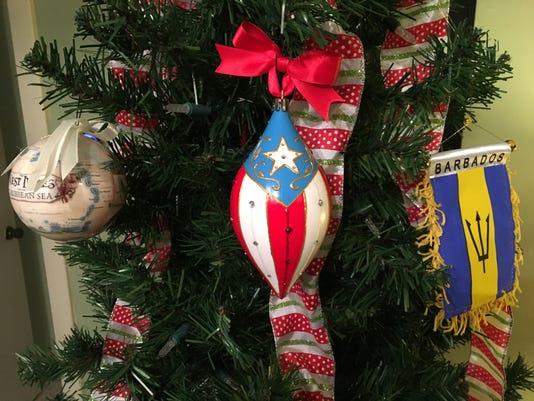 West Indies Trip Ornaments