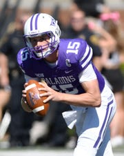 Senior Harris Roberts overcame injuries to have a productive season in first season as Furman's starting quarterback.
