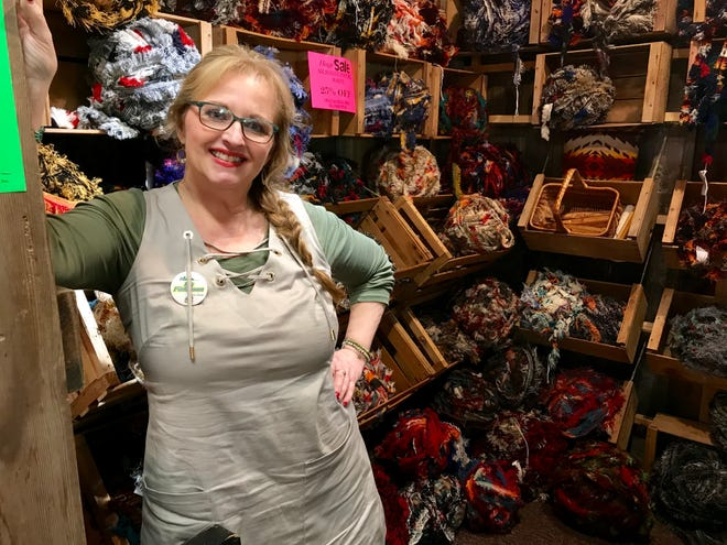 Kit Finlayson launched Creative Addictions in Conrad eight years ago and is closing the craft supply business.