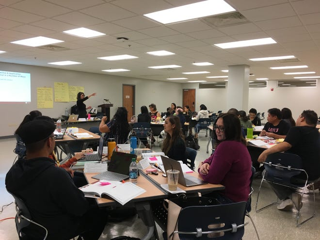 Guam DOE faculty in November participated in a series of workshops promoting English as a Second Language learning techniques.