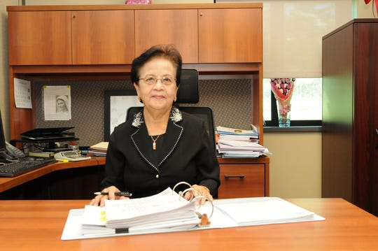 After a stellar career of nearly 51 years, Rosita Santos Wright, financial management director of Naval Facilities Engineering Command (NAVFAC) Marianas retired from the federal government service on Jan. 11. Wright was the first woman and first Chamorro to hold the positions of budget officer and comptroller at Public Works Center (PWC) Guam - what is today NAVFAC Marianas.