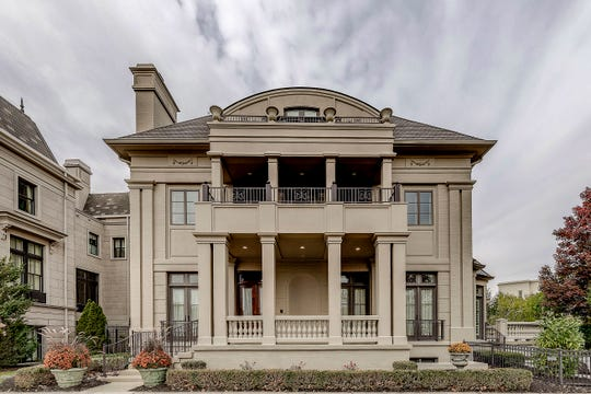 The house, at 1886 Rhettsbury Street, has six bedrooms and more than 8,000 square feet. It features Beaux Arts-style architecture.