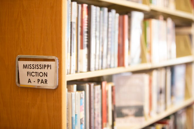 The literary work of Mississippi authors is available for check out in the Mississippi Fiction section of the Eudora Welty Library in downtown Jackson.
