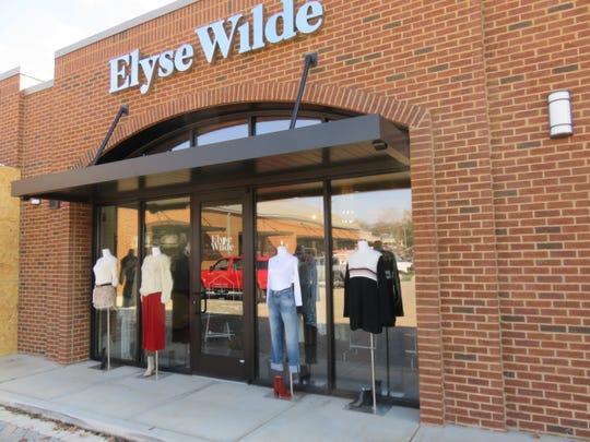 Elyse Wilde is in the Vertex Shopping Center in Bearden.