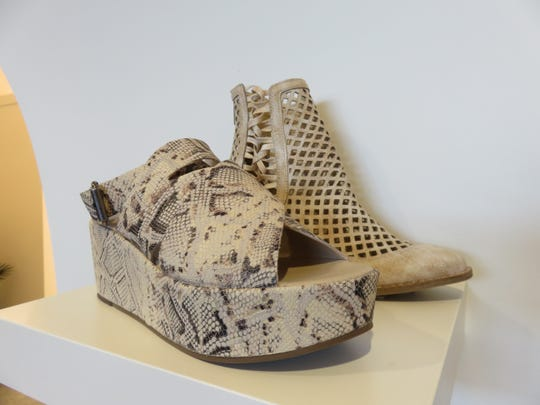 One of the brands of shoes catered to a woman's individual style