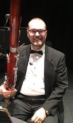 Bassoonist Zach Millwood is also an oboist.