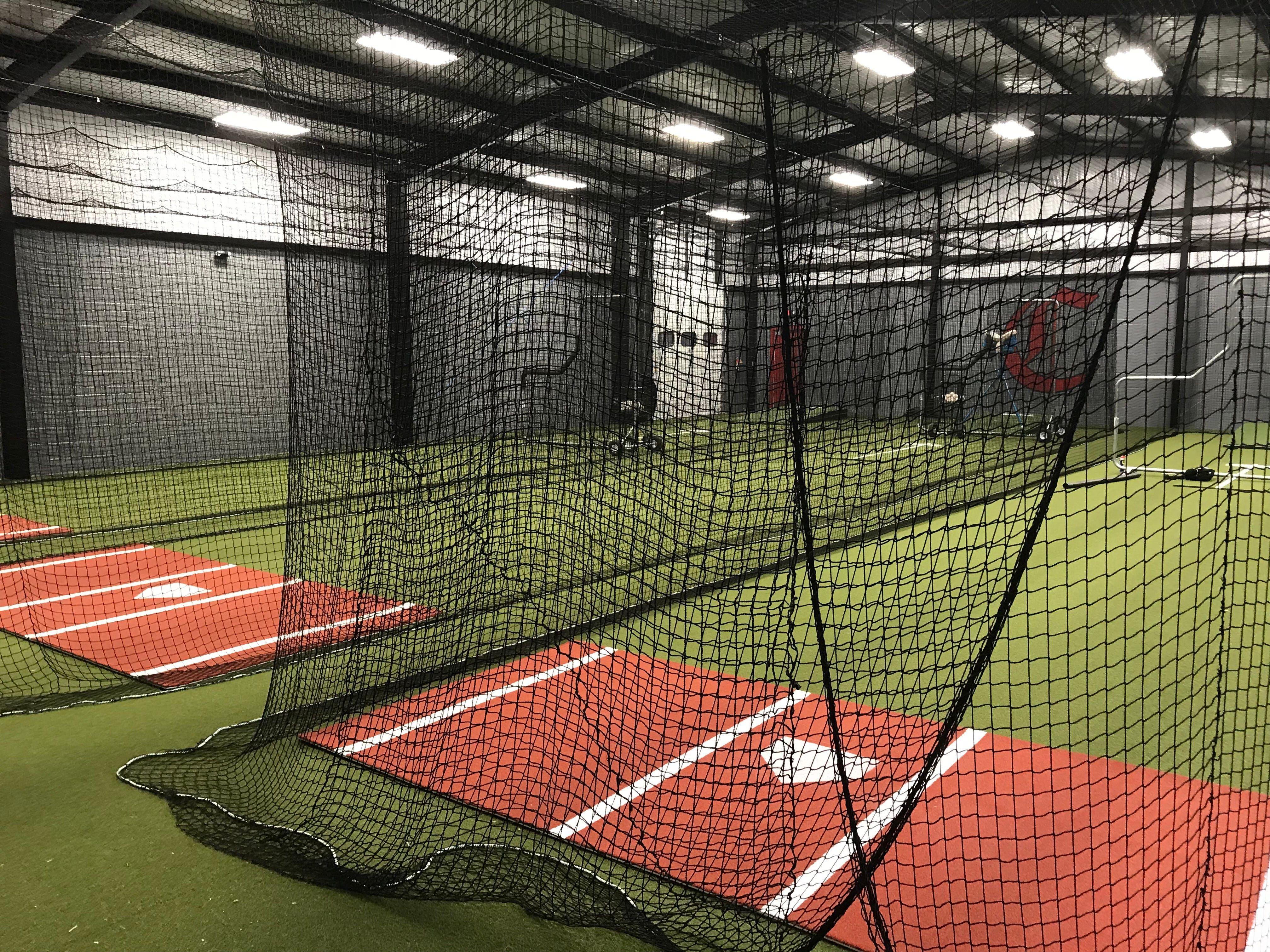 Central High School's new Tommy Schumpert & Bud Bales Hitting Facility.