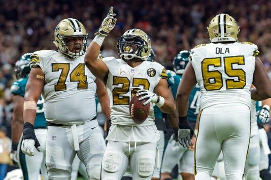 Nfl Philadelphia Eagles At New Orleans Saints