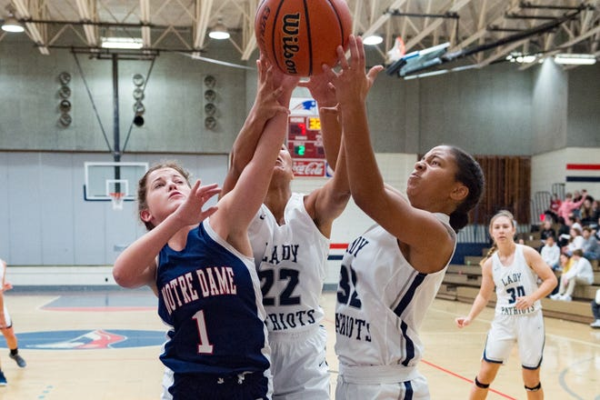 Notre Dame and North Vermilion girls squared off in the North Vermilion Girls Tournament.