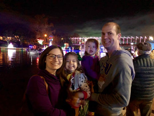 From mid-November to early January Natchitoches becomes the city of lights with hundreds of thousands Christmas lights throughout the historic downtown. Reporter Leigh Guidry and family visited Natchitoches as part of their tour of the Cane River Creole National Heritage Trail.