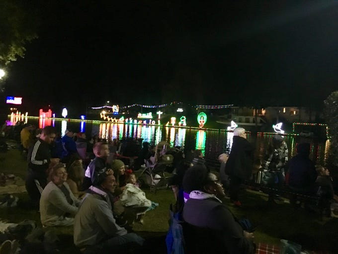 From mid-November to early January Natchitoches becomes the city of lights with hundreds of thousands Christmas lights throughout the historic downtown and a fireworks show every weekend.