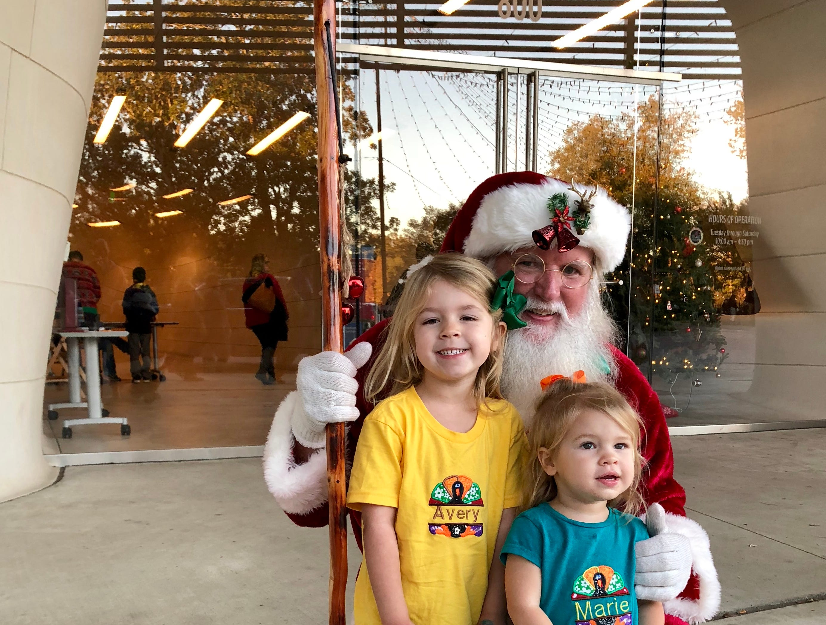 From mid-November to early January Natchitoches becomes the city of lights with hundreds of thousands Christmas lights throughout the historic downtown. So, of course, Santa Claus comes to visit.