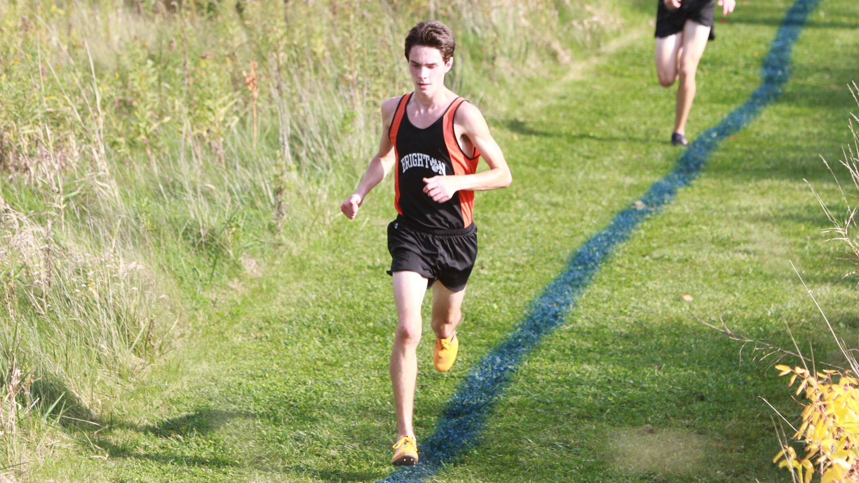 3de29a243 Brighton s Zach Stewart made fast friends at Foot Locker cross country  championship