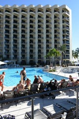 Seeing guests on the pool deck is a welcome sight. The Hilton Marco Island Beach Resort & Spa has reopened for guests, in time for Thanksgivng and the upcoming winter season, following a year and a half, $60 million renovation.